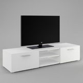 tv lowboards wei matt online kaufen. Black Bedroom Furniture Sets. Home Design Ideas