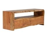 Massivum 10023384 Lowboard, Holz, natur, 117 x 40 x 45 cm -