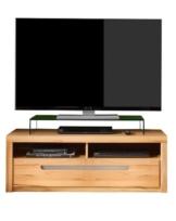 trendteam ZO31665 TV Möbel Lowboard, BxHxT 123 x 43 x 50 cm, Korpus Kernbuche Nachbildung und Fronten in Kernbuche massiv -