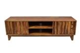 TV Board Sideboard Retro Plasma Mid Century Massivholz Sheesham Lowboard Fernsehschrank Tv Tisch -