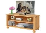 TV Lowboard MACON aus Kiefer massiv in gebeizt geölt von Loft24 - 3002544 -