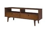 TV Lowboard Rack Regal Charme mit Schubladen Fernsehtisch Nischenregal Vintage -
