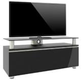 """VCM 14245 TV-Lowboard lack """"Clano"""" Rack, Tisch, Holz, Schrank, schwarz -"""